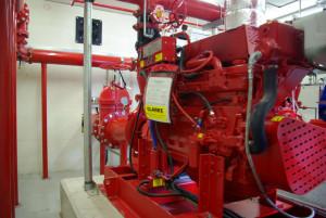 fire sprinkler pump
