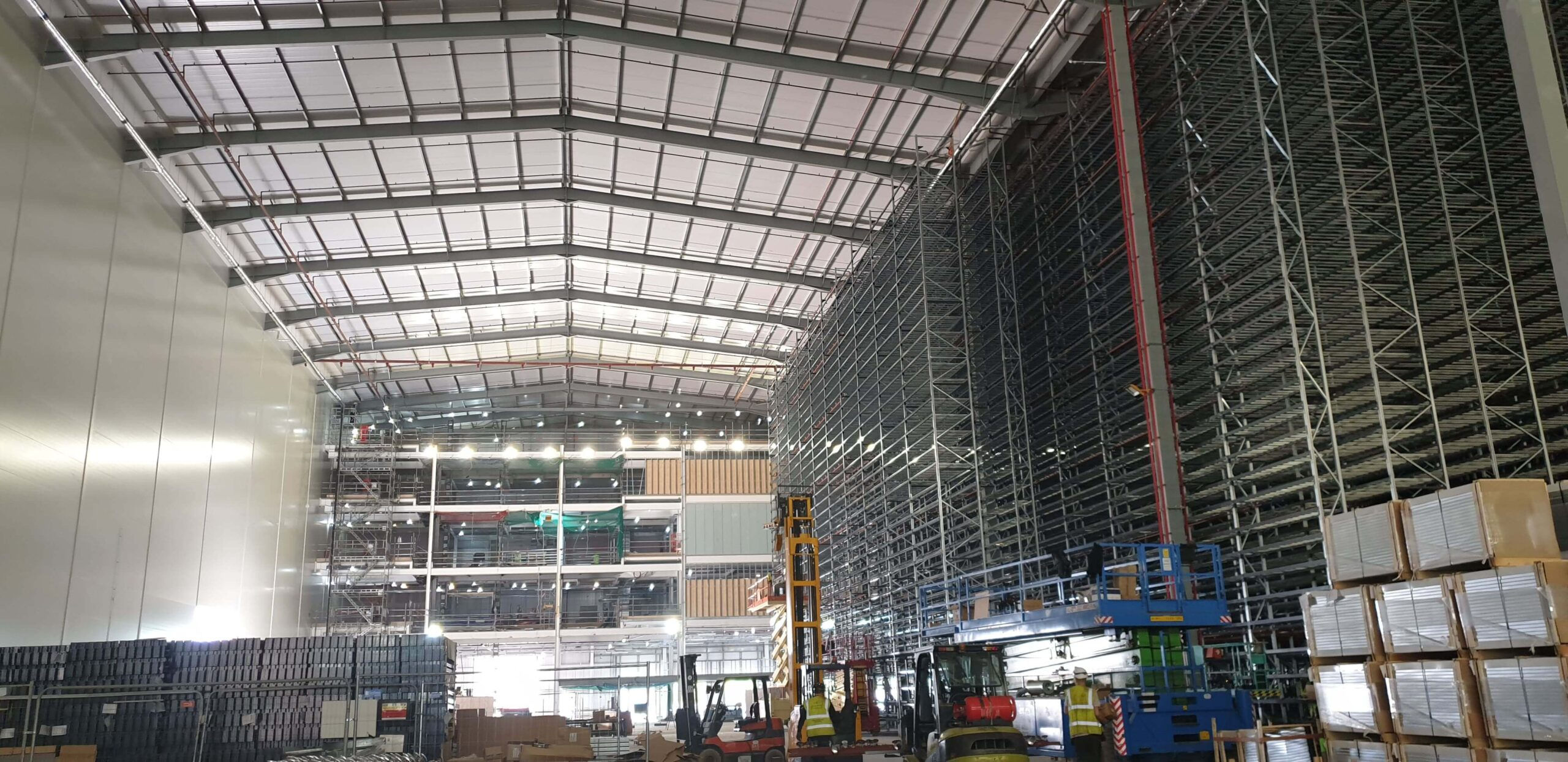 Next High Bay - Extension of Existing Building