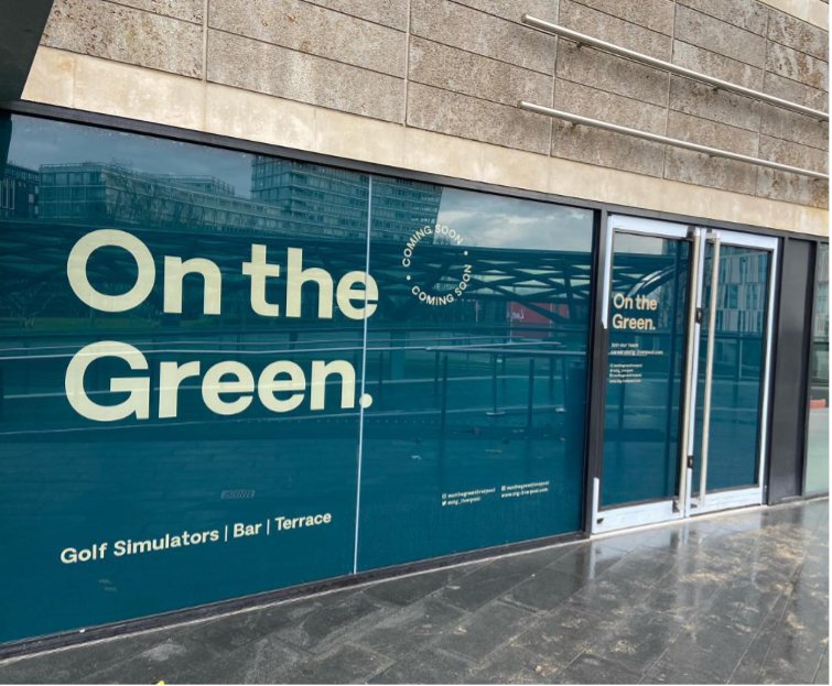 On the Green, Golf Simulator, Liverpool ONE