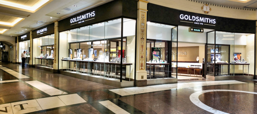 Goldsmiths Trafford Centre Armstrong Priestley